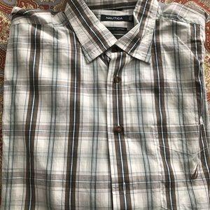 Men's long sleeve XL button up shirt